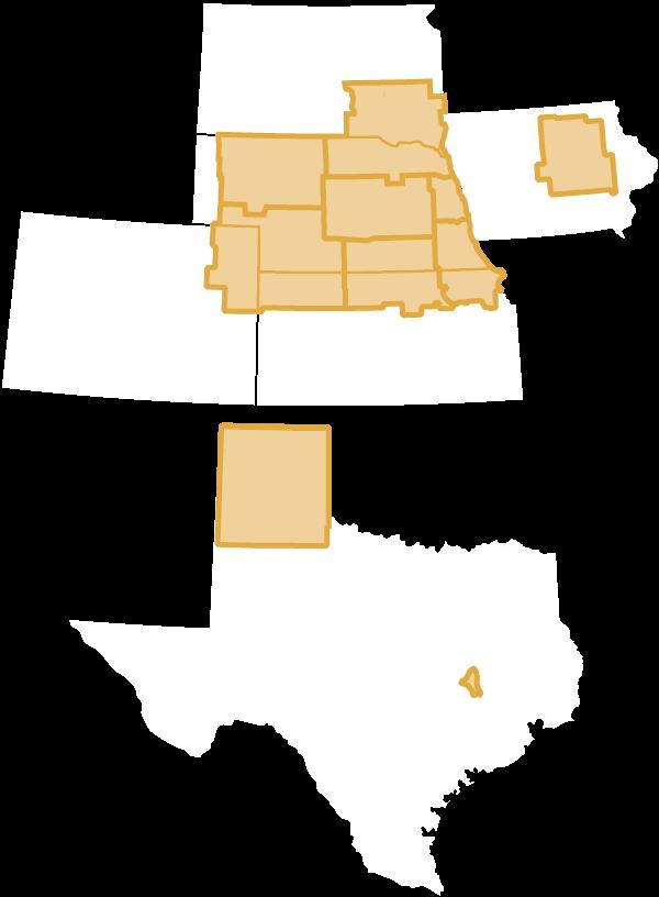 Prairie Valley Zone Map